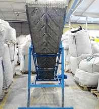 Ленточный конвейер с регулировкой угла наклона